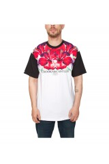 Crooks & Castle Hibiscus Knit Crew T Shirt