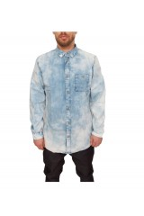 Dr Denim Snow Denim Shirt 257 Mid Vintage