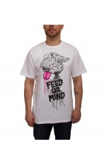 Galleria-T Feed Yo-Ur Mind White T Shirt