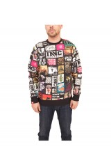Innercity Big Picture Crew Jumper Black