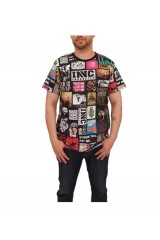 Innercity Big Picture T Shirt Black