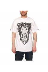 Jilted Royalty Medusa T Shirt White