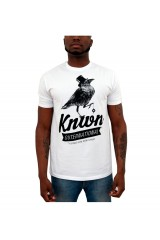 Known Bird Print White T-Shirt