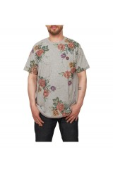 Marshall Artist Floral T Shirt Grey