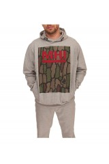 MHI Hooded Sweat Jumper English Oak