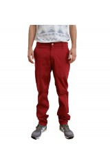Monkee Genes Classic Slim Fit Cherry Red Chinos