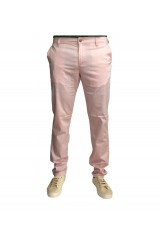 Monkee Genes Classic Skinny Salmon Pink Chinos