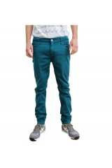 Monkee Genes Classic Peacock Skinny Fit Chinos