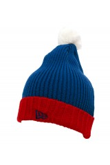 New Era Logo Blue Red and White Bobble