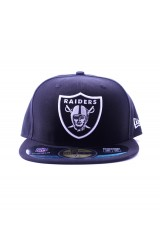 New Era Nfl Raiders Black Fitted 59Fifty Cap