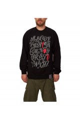 PXL I Love You Raglan Crew Jumper