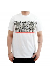 PXL Invader Camo White T-Shirt