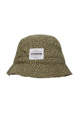 Supremebeing Hat Cell Olive