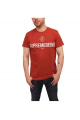 Supremebeing Institution T Shirt Red