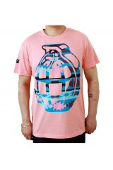 Trainerspotter Navajo Grenade Pink T-Shirt