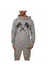 Trainerspotter Paisley Palms Hooded Top
