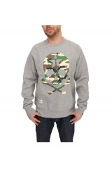 Two Angle Wirate Crew Neck Jumper